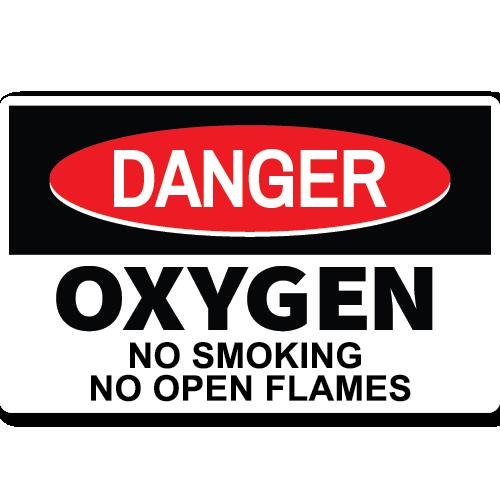 Danger Oxygen No Smoking