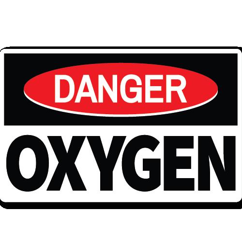 Danger Oxygen
